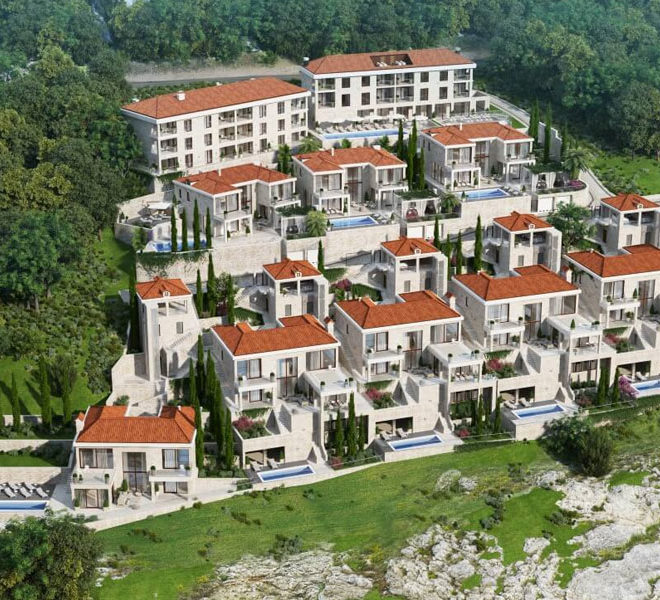 Montenegro Properties - Residences and Beach club, luxury complex in Rezevici, Budva