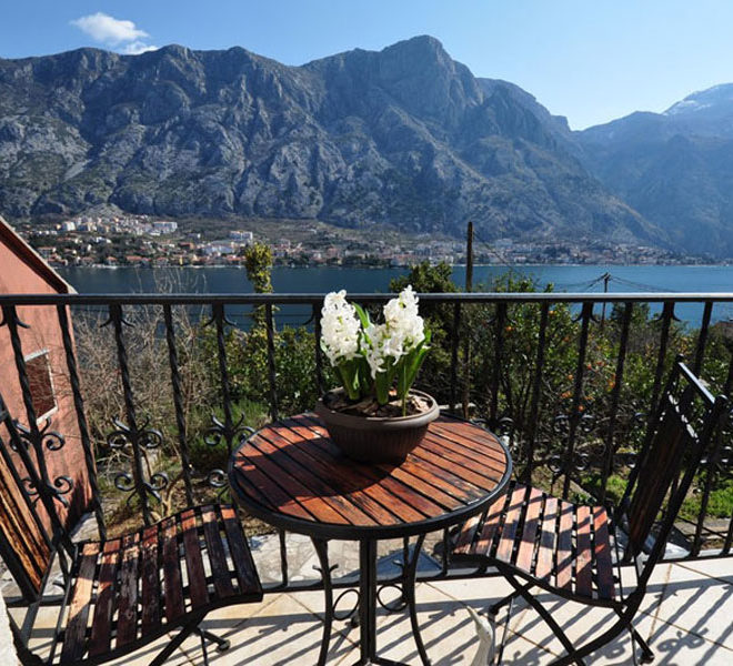 House for Sale in Montenegro - Stunning Stone House with Sea Views, Muo, Kotor Bay