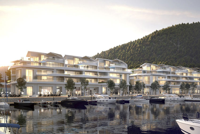 Apartments for sale in Montenegro-Luxury Apartments in Portonovi complex, Herceg Novi