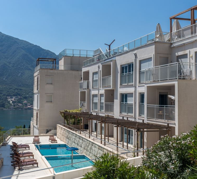 Property for sale in Montenegro - apartment in luxuriuos complex Buena Vista, Dobrota