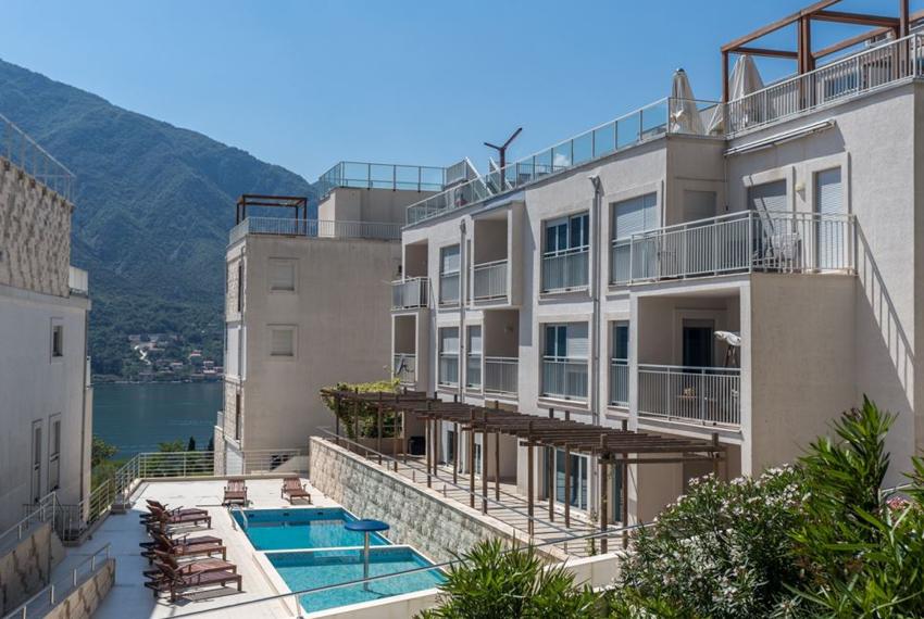 Property for sale in Montenegro - apartment in luxuriuos complex Buena Vista, Dobrota
